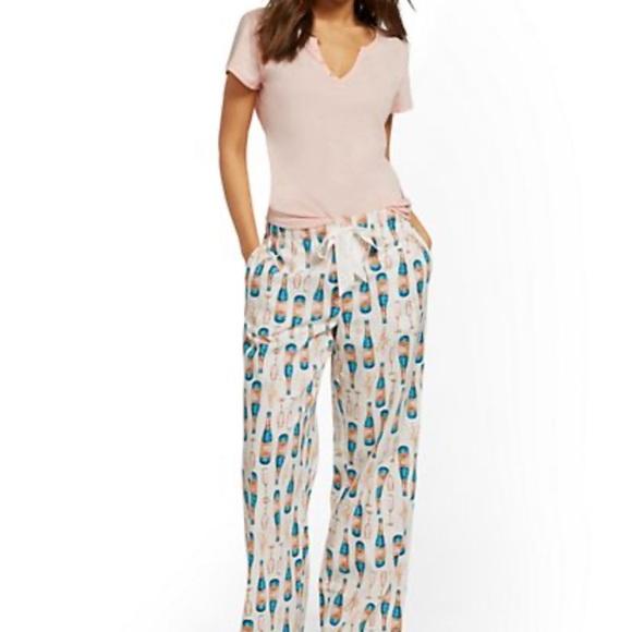 New York & Company Other - NWT NY & Company Pink Pajama Set